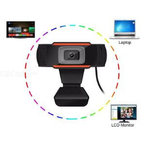 Web Camera HD 1080P USB Video Cam with Mic 30° Rotatable Webcam for PC Computer Video Calling Meeting Online Teaching Learning