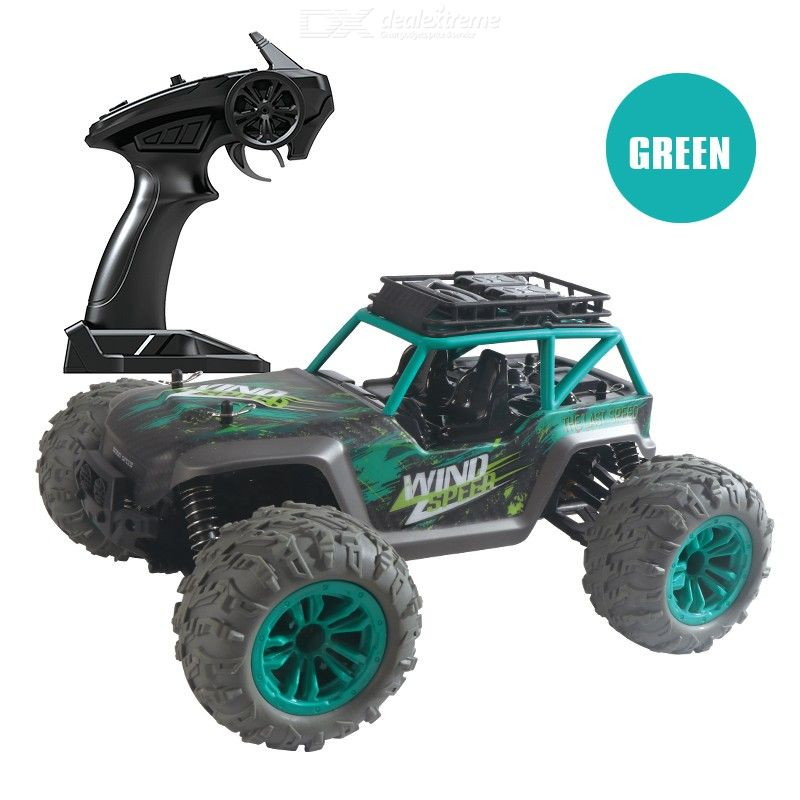 1:14 Four-wheel RC Car High-speed Off-road Vehicle Toys Kids Boys Gift