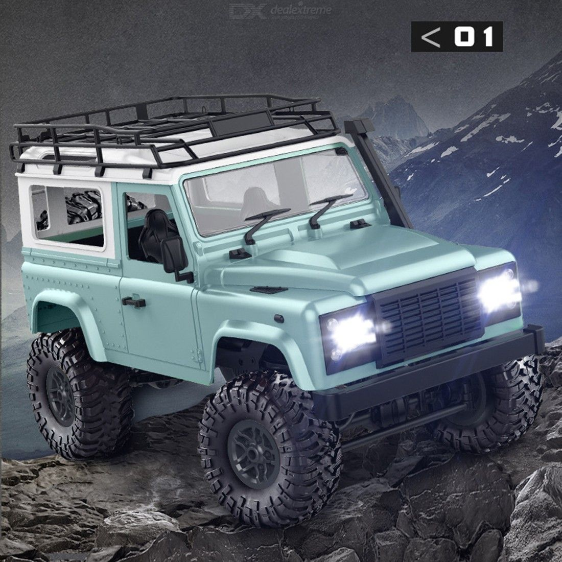 MN90 1:12 4WD 2.4G RC Climbing Car RC D90 RC Off-road Model Vehicle Remote Control Toy