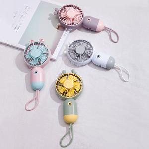 Mini Handheld Fan 3 Speed Adjustable USB Rechargeable Portable Personal Fan For Travel Office Room Home
