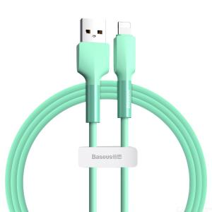 Baseus Stain-resistant Silica Gel USB To Lightning Charging Cable For Apple IPhone