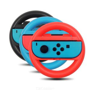 2PCS Steering Wheel Controllers Wireless Grip for Nintendo Switch Joycon