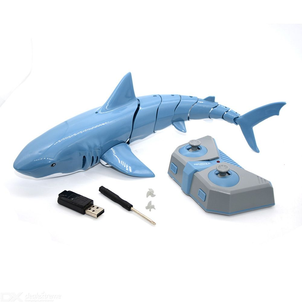 Remote Control Toys Waterproof RC Shark Toys For Children Kids
