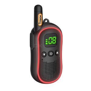 3KM Long Distance Walkie Talkie Portable Mini Two-Way Radio with Breathing Light Display
