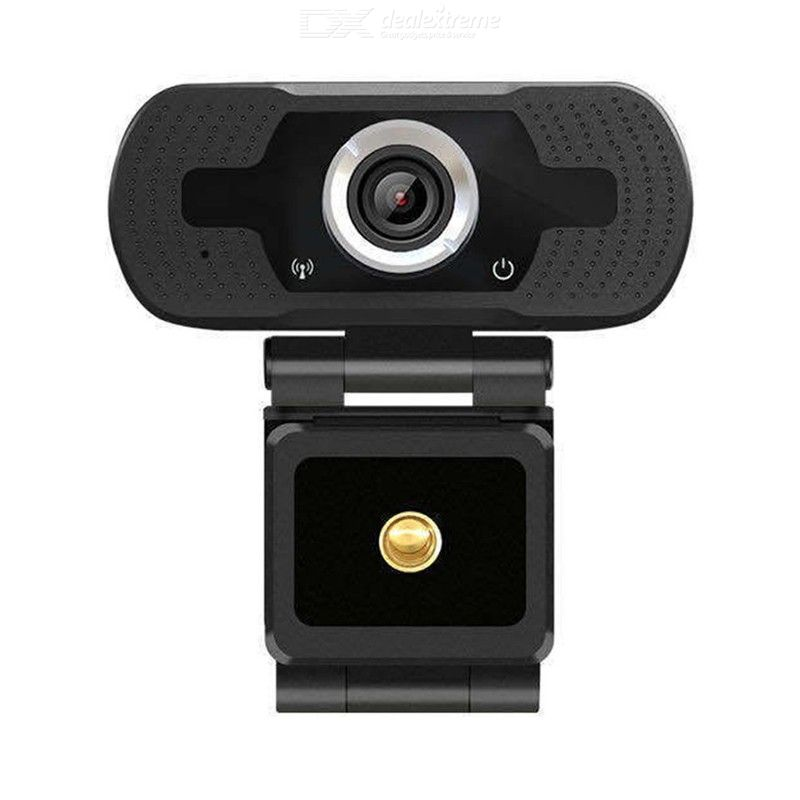 Web Camera HD 1080P USB Video Cam with Mic Drive-free Webcam for Notebook Desktops PC Video Calling Meeting Online Teaching