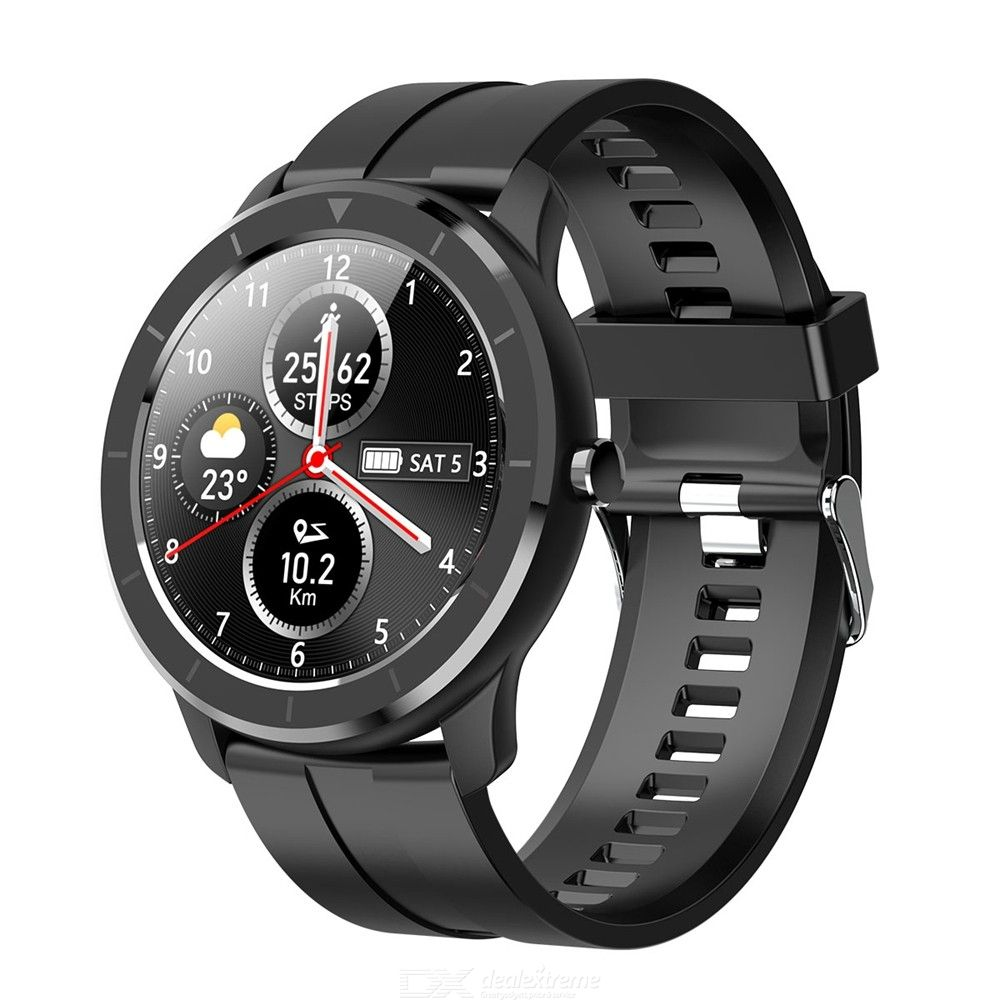T6 Smart Watch Heart Rate Blood Pressure Monitor IP68 Waterproof Fitness Tracker