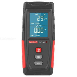 WT3121 Rechargeable Magnetic Radiation Tester Electromagnetic Radiation Detector