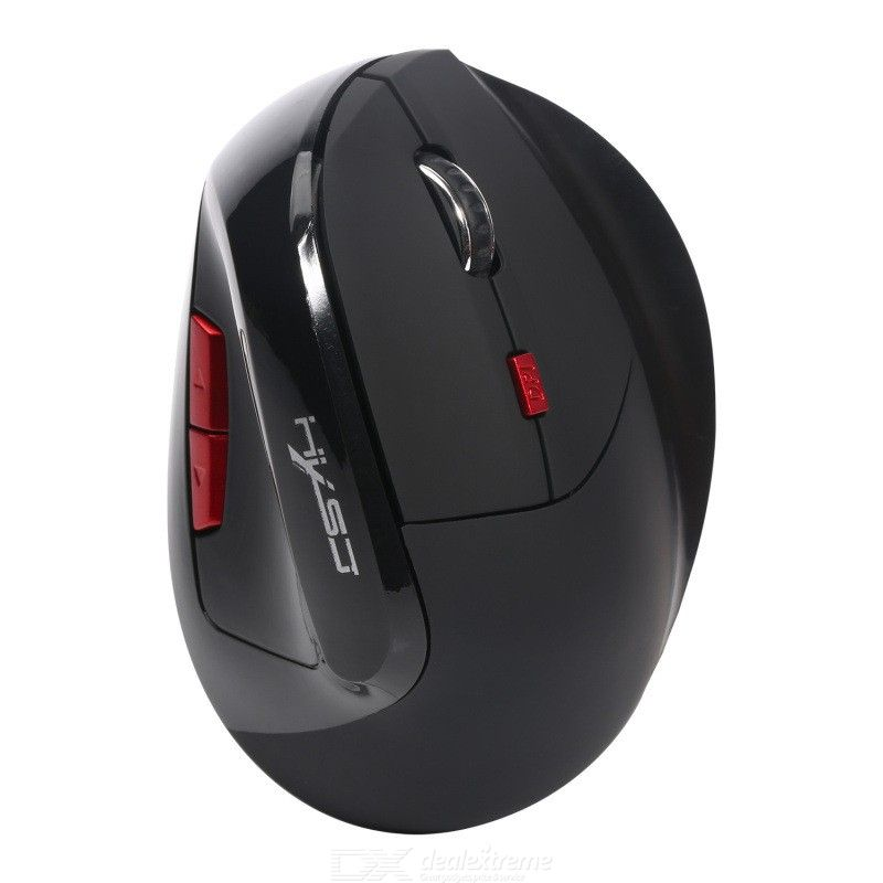 X60 2.4GHz Vertical Wireless Mouse USB Rechargeable Gaming Mouse 240dpi Optical Mouse for Laptop Desktop Computer Office
