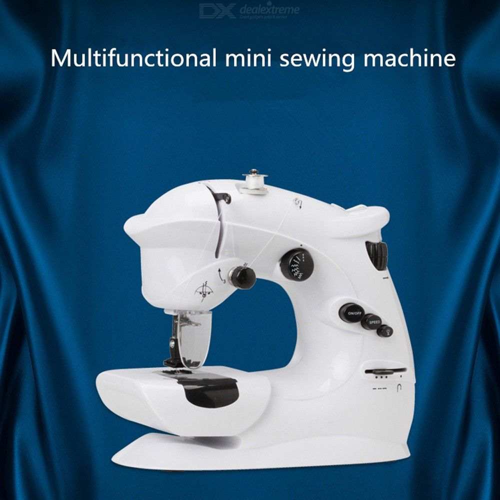 Mini Electric Sewing Machine with 7 Adjustable Stitches and Adjustable Width Length Portable Sewing Machine