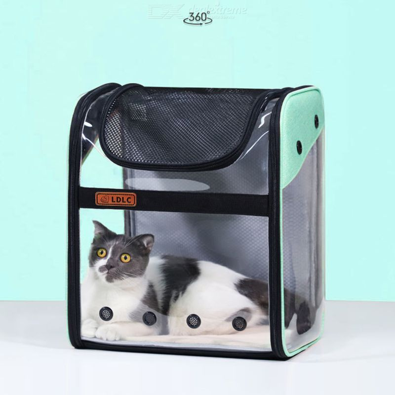 Cat Dog Carrier Backpack Foldable Portable Transparent Space Capsule Carrier Backpack For Travel Hiking Walking Outdoor Use