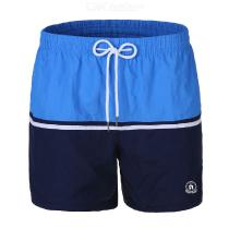 Color Matching Casual Sports Fitness Shorts Quick-drying Beach Pants