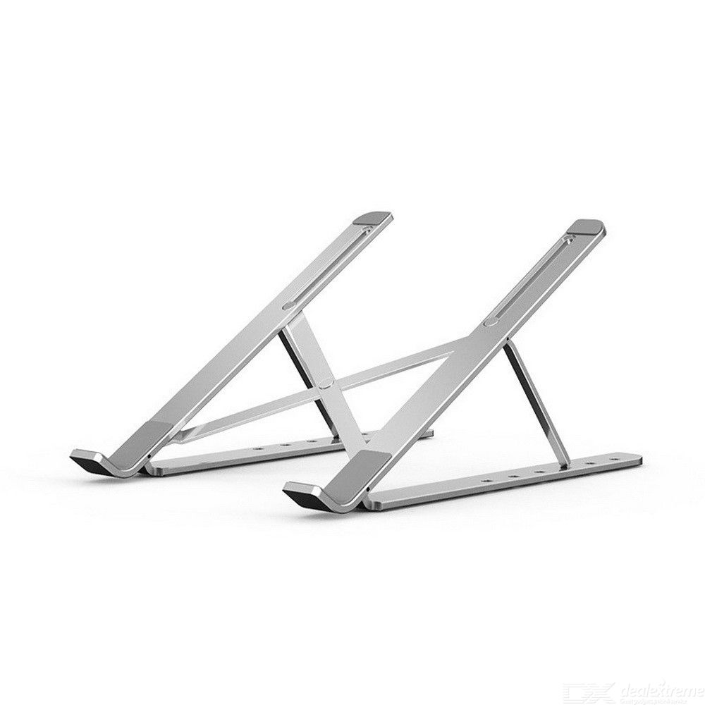 Laptop Stand for MacBook Pro Notebook Stand Foldable Aluminium Alloy Tablet Stand Bracket Laptop Holder for Notebook - Silver