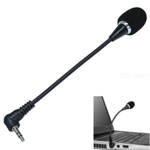 17cm 3.5mm Laptop Microphone Conference / Gaming / Chat Microphone Free Drive