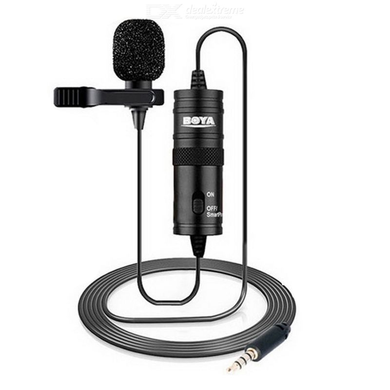 Mini Lavalier Lapel Microphone With Omidirectional Mic For Broadcasting Recording Interview