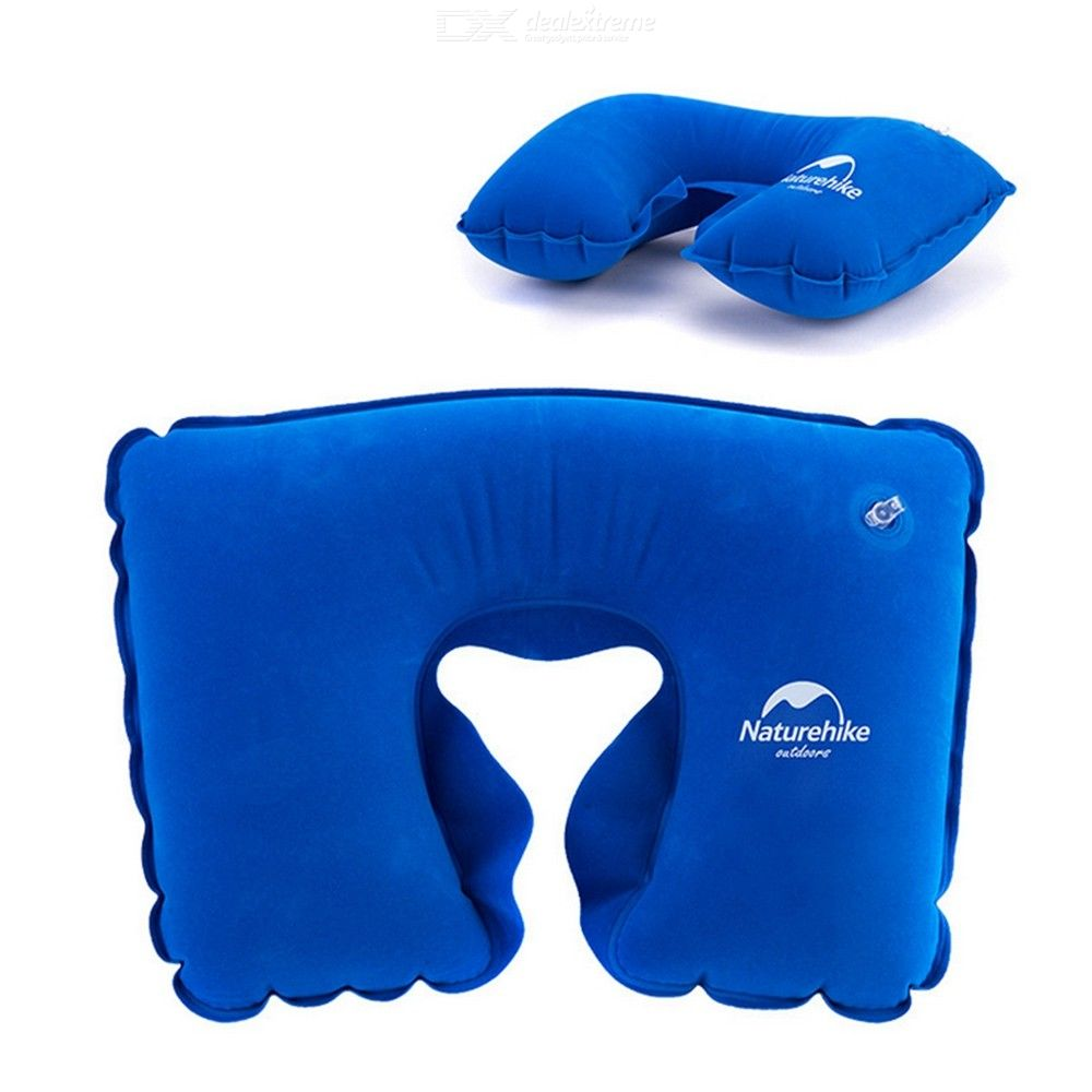 Naturehike Inflatable Pillow Flocking Travel Neck Pillow camping pillow U-shaped pillow