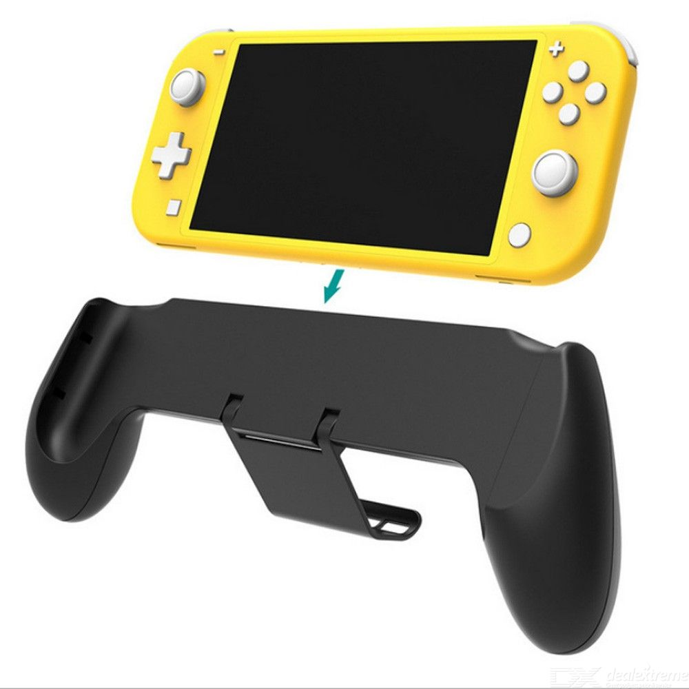 Nintend Switch Lite 2019 Protective Grip Case Asymmetrical Adjustable Stand with 4 Game Slots Handle Grip Shell For Switch Mini