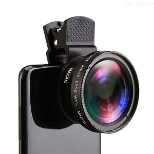 2-in-1 External Lens Mobile Phone Lens Wide-angle And Macro 0.45X