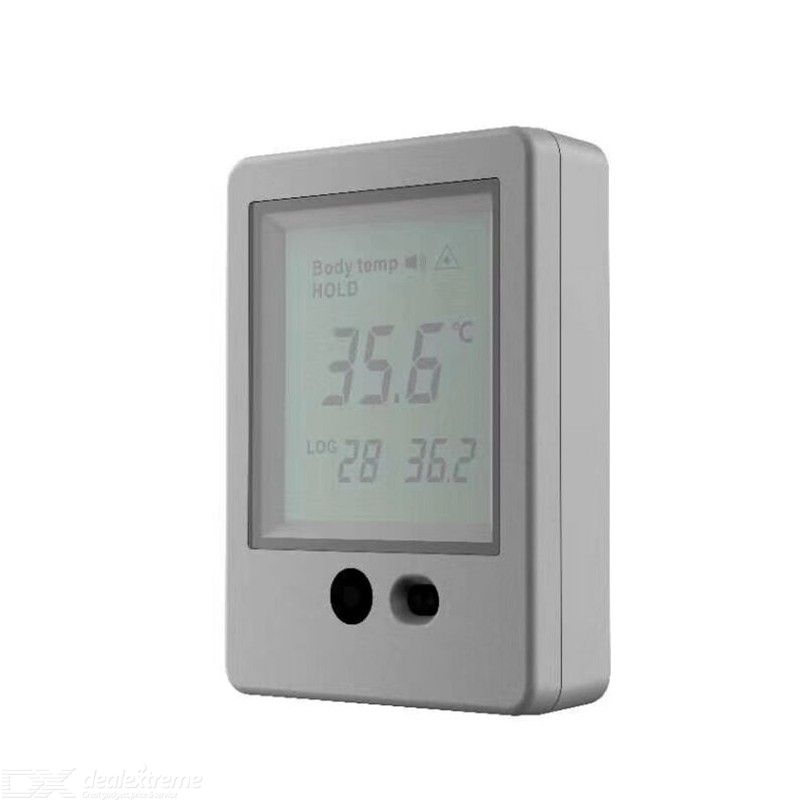 Non-Contact Thermometer AI Contacless Human Body Temperature Gauge with Fever Alarm