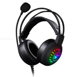Gaming Headsets Over-Ear Wired Game Headphones With 7.1 Surround Sound RGB Backlit