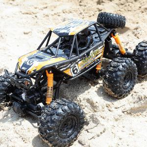 Large Size 1:8 RC Crawler 6WD High Speed 10KM/H 2.4G Remote Control Off Road Rock Monster Truck 48.5x30.5cm