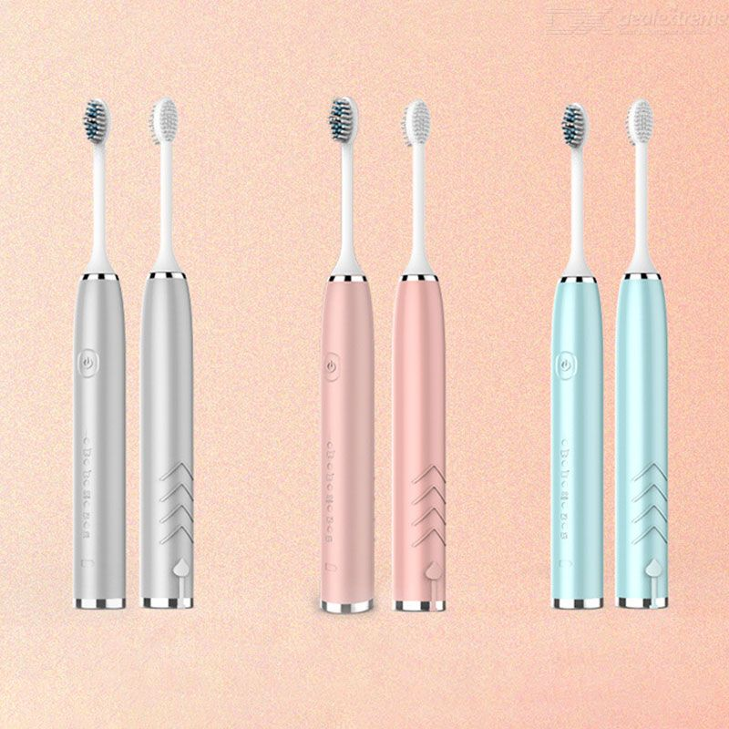 Electric Toothbrush USB Rechargeable Electronic Tooth Brush With 5 Modes Pressure Sensor IPX 7