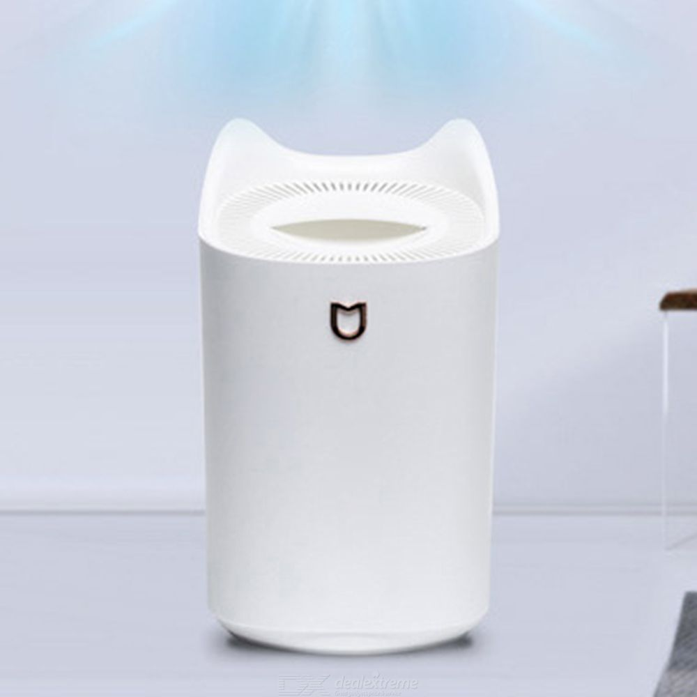 3L Humidifier Top-Filling Cool Mist Dual-Spray Vaporiser For Home Bedroom Office