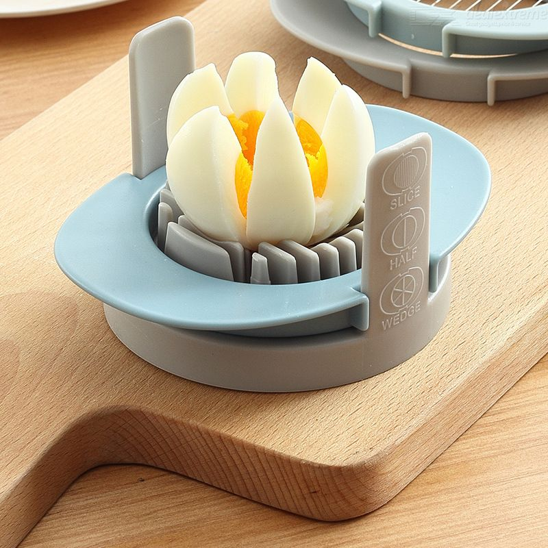 3 In 1 Stainless Steel Cutting Wires Egg Slicer Kitchen Gadgets Multifunctional Egg Cutter