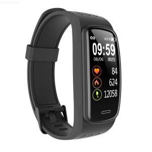 Corn Exercise Smart Bracelet Blood Pressure Blood Oxygen IP68 Waterproof Exercise Tracker Meter Step Heart Rate Sleep Monitor