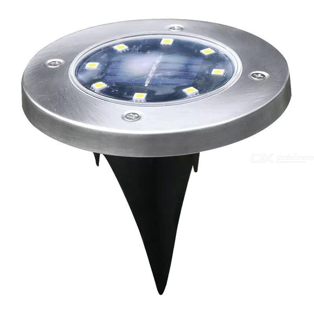 Waterproof Solar Lawn Light LED Ground Buried Lamp For Outdoor Pathway Garden