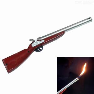 23cm Zinc Alloy Gun Type Lighter for Gas Range / Barbecue / Camping / Kitchen  Without Fuel Gas