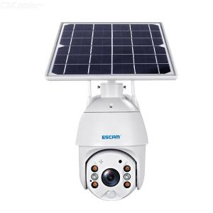 ESCAM QF280 1080P Cloud Storage PT WIFI  PIR Alarm IP Camera With Solar Panel Night Vision Two Way Audio IP66 With Battery