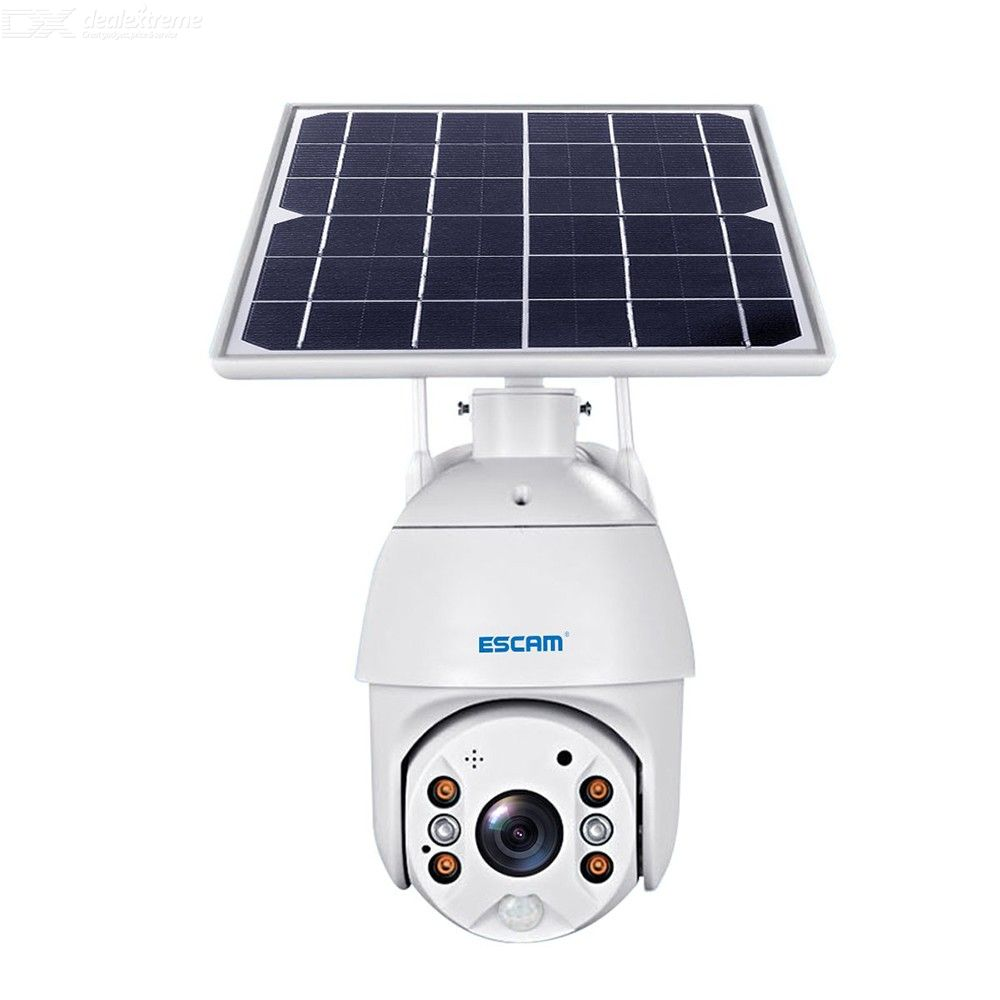 ESCAM QF280 1080P Cloud Storage PT WIFI  PIR Alarm IP Camera With Solar Panel Full Color Night Vision Two Way Audio IP66