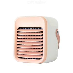 Air Conditioner Fan USB Rechargeable Air Cooler 3-speed Mini Portable Desktop Air Cooling Fan For Home Bedroom Office