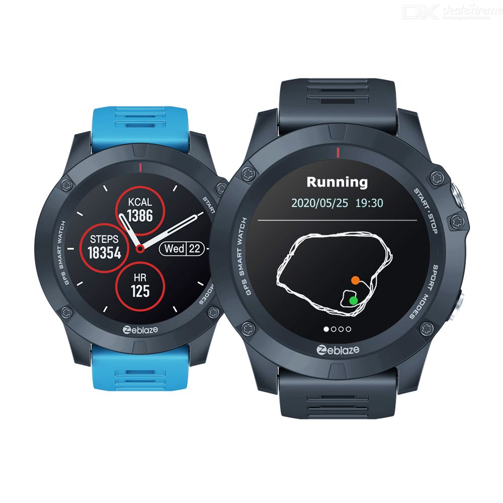 Zeblaze VIBE 3 GPS Smart Watch Heart Rate Multi Sports Modes Waterproof/Long Battery Life GPS Watch For Android/IOS
