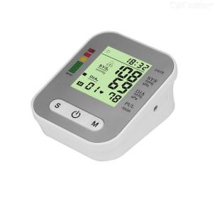 Digital Electronic Blood Pressure Monitor Arm Pulse Measurement Meter Automatic Portable Health Care Tool