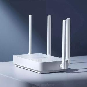 Xiaomi Redmi AX5 Router WiFi 6 5-Core 4 High Gain Antennas Wider Router White CN Charger
