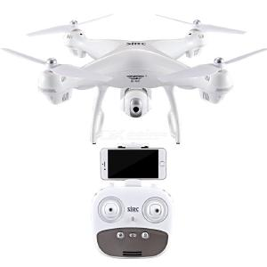 S70W RC Drone With 720P HD Camera GPS Quadcopter With 120 Degree Wide Angles Headless Modes One Key Takeoff Land