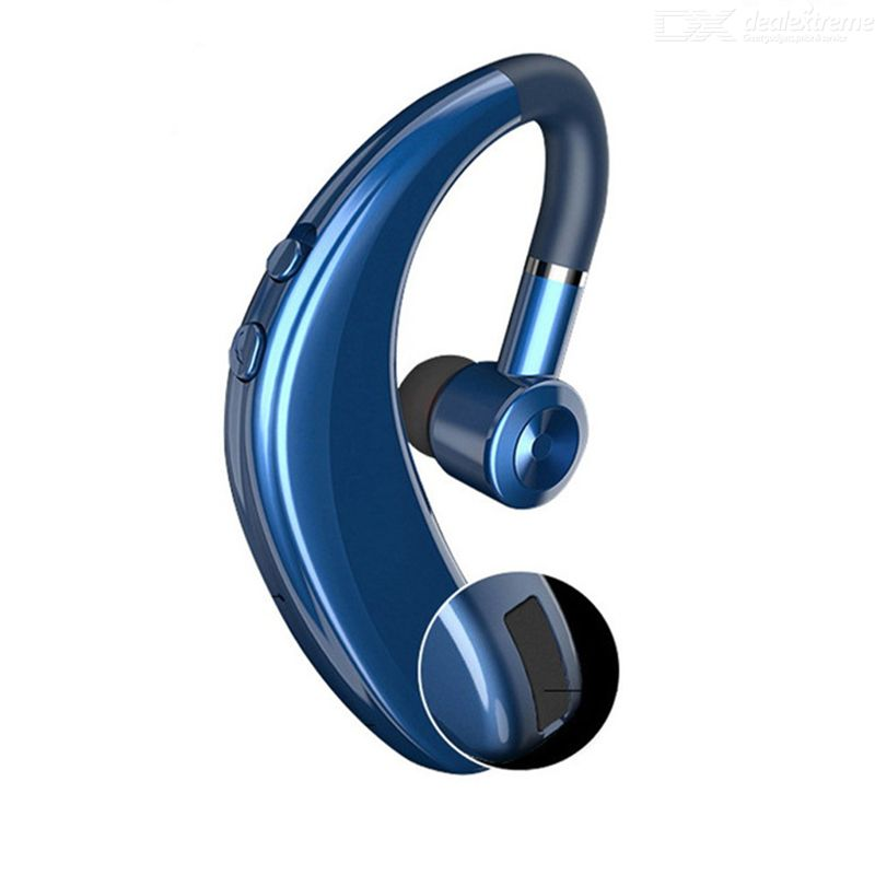 S109 Single Wireless Bluetooth Business Headset CVC6.0 Noise Reduction Earhook Sport Earphone