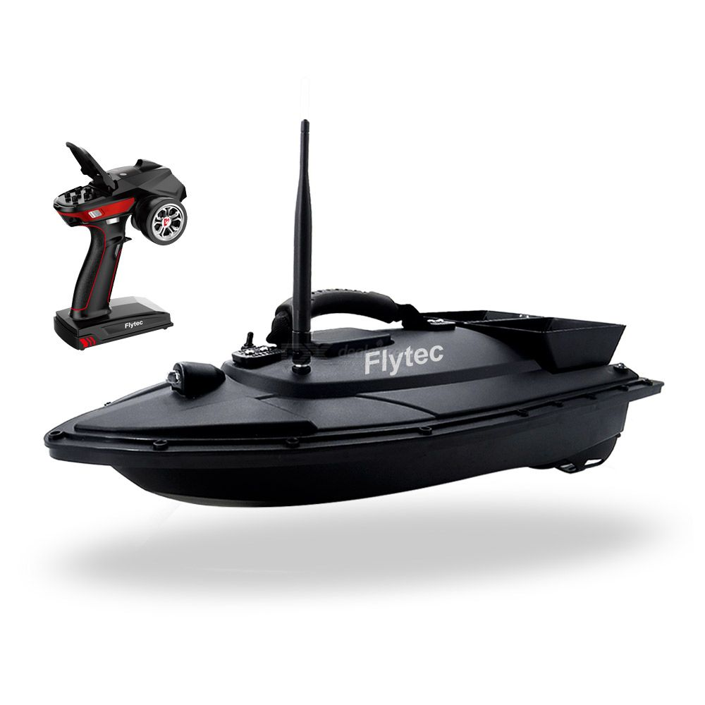RC Fishing Bait Boat Remote Control Dual Tanks Fish Bait Boat With 500m Control Distance