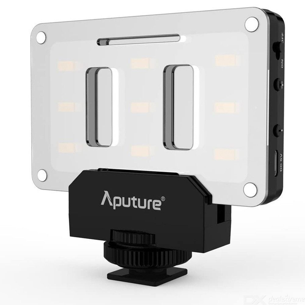 Aputure Amaran AL-M9 Rechargeable LED Video Fill Light for SLR Camera DV Camcorder