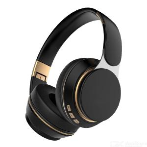 Over-Ear Bluetooth Earphones Wireless Bluetooth 5.0 Headset With Stereo Sound Memory Card Slot