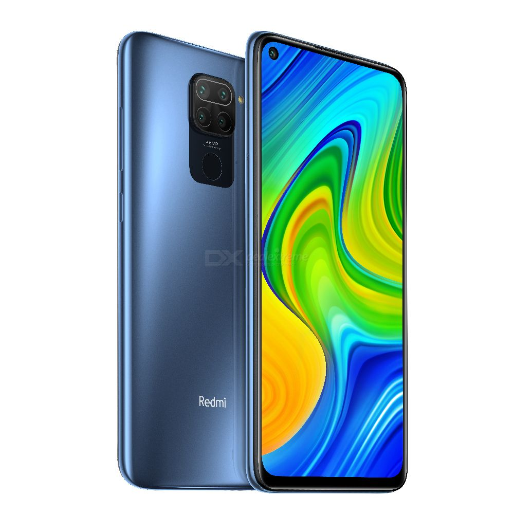 Xiaomi Redmi Note 9 6.53 Inch 4G Smartphone MTK Helio G85 Octa Core 48MP + 8MP + 2MP + 2MP - Global Version