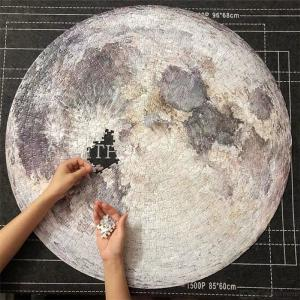 3D Planet Puzzle Earth Moon Mars Jigsaw -1000 Pieces