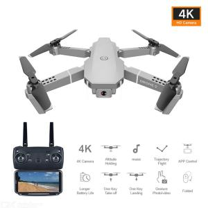 E68 RC Drone With Camera 4K 1080P 720P Remote Control Quadcopter With Speed Control One Key Takeoff Land Return Headless Mode