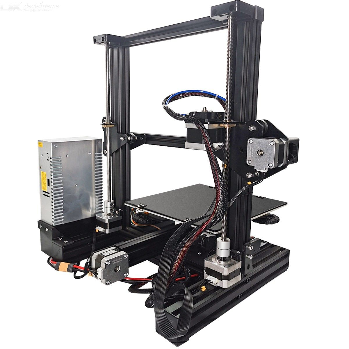 3D Printer Accessories Dual Z Axis Leading Screw Rod Upgrade Kit with Stepper Motor Replacement for Creality Ender 3  3D Printer