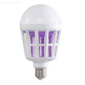 2-in-1 15W Mosquito Repellent Lamp E27 LED Bulb 220V Mosquito Repellent Bulb Insecticidal Mosquito Repellent Bulb with EU adapte