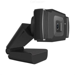 GOFORAY Web Camera HD 720P USB Video Cam with Mic Webcam for Notebook Desktops PC Video Calling Meeting Online Teaching