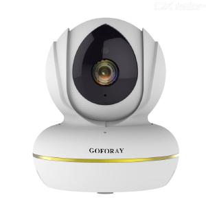 GOFORAY C22S Wi-Fi 1080P IP Camera Video Surveillance Monitor Wireless Security Camera with Two Way Audio Night Vision EYE4 APP