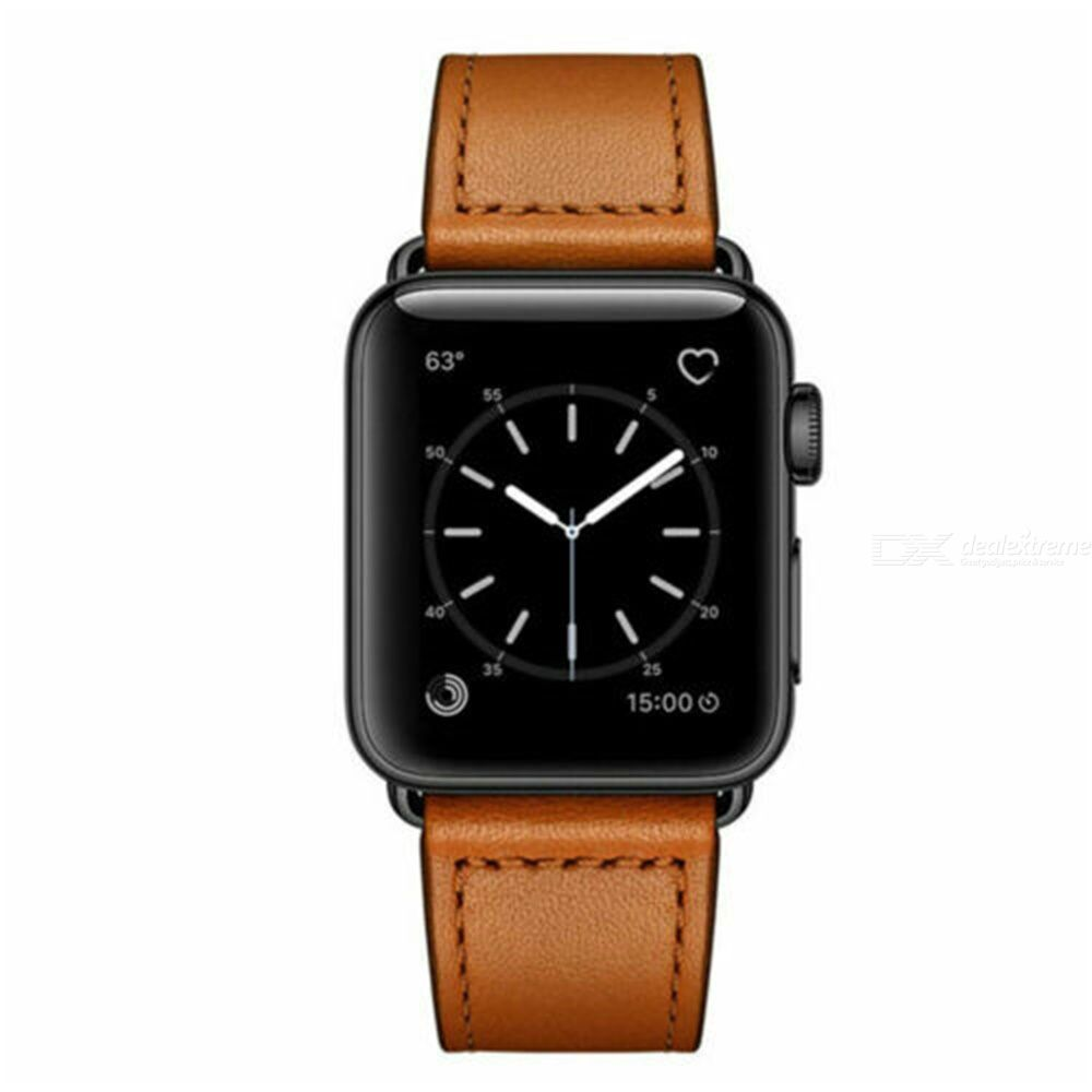 Leather Strap For Apple Watch Series 5 / 4 / 3 / 2 / 1 Watches Accessories