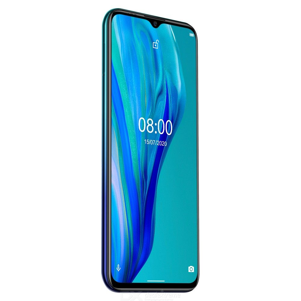 Ulefone Note 9P Android 10 MT6762 6.52 Inch Waterdrop Screen 16MP Triple Camera 4G Phone with 4GB RAM 64GB ROM - Global Version